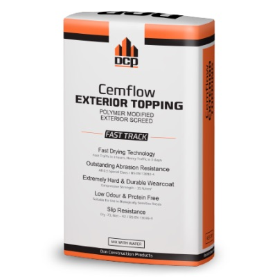 Cemflow Exterior Topping