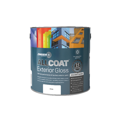 Zinsser Allcoat Exterior Gloss Solvent Based