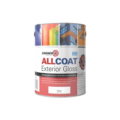 Zinsser Allcoat Exterior Gloss Water Based