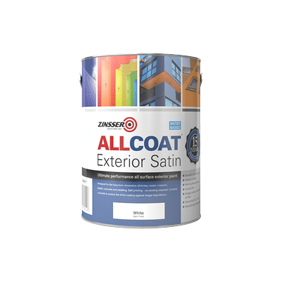 Zinsser Allcoat Exterior Satin Water Based